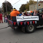 float in Pumpkinfest parade