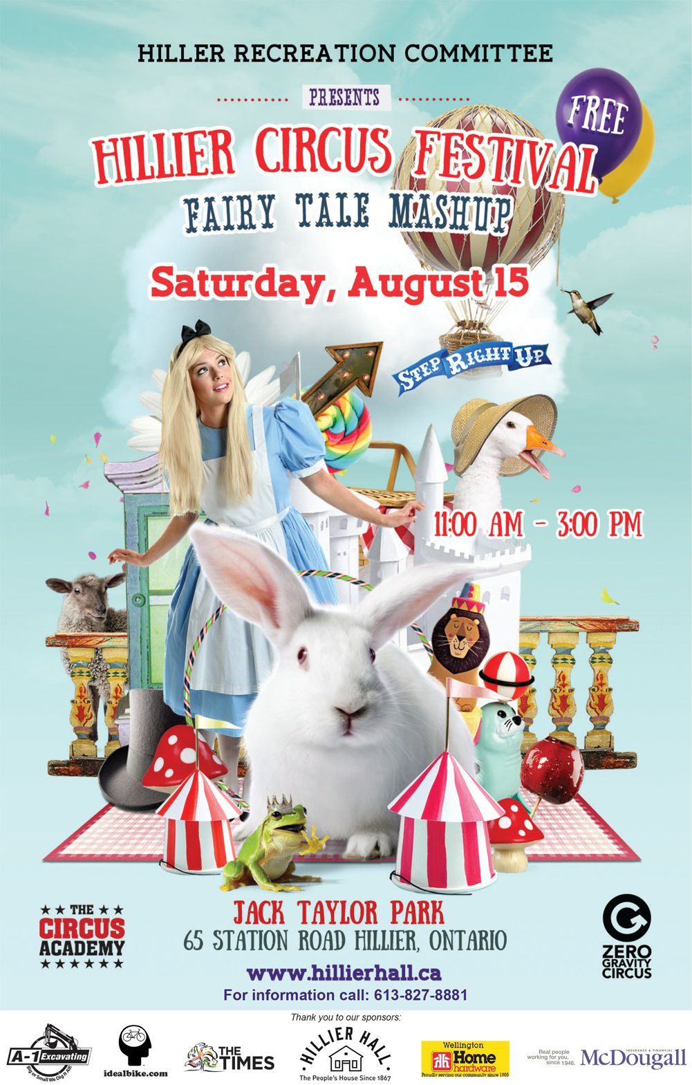 Hillier Circus Festival - Saturday, August 15